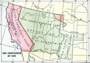 California map 1850